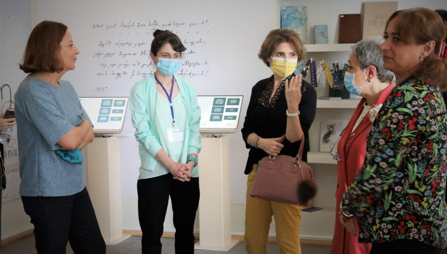 Members of Culture Committee Visiting House-Museums in Tbilisi