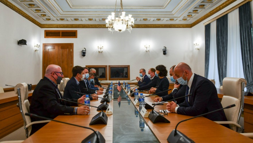 The meeting of the Members of Parliament with the US Congress Delegation