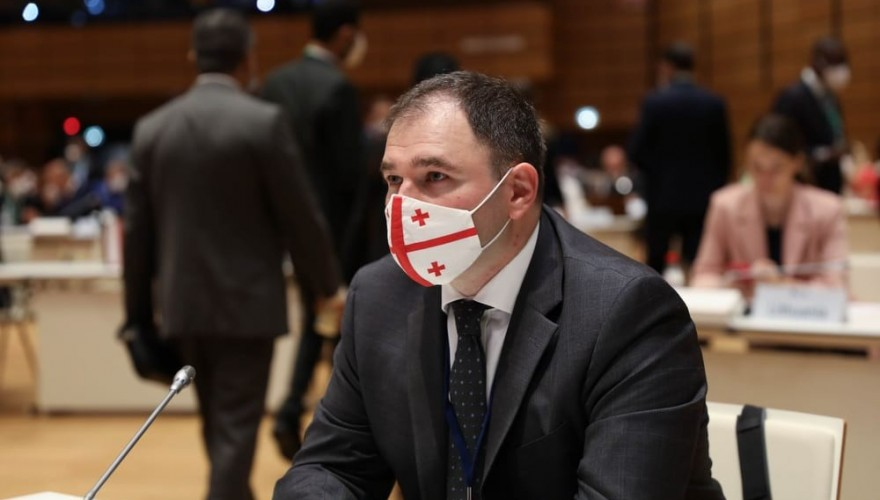Nikoloz Samkharadze: at all bilateral meetings held within the World International Conference of Speakers of Parliament Georgia received support to the territorial integrity and the reforms