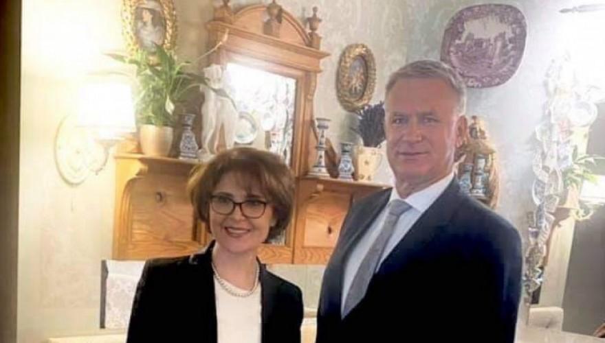 Meetings of Eliso Bolkvadze in Latvia