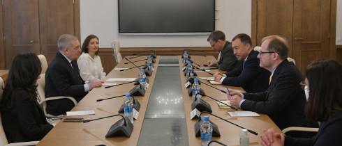 გიორგი ვოლსკი ევროკავშირის სპეციალურ წარმომადგენელს, ტოივო კლაარს შეხვდა